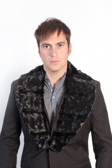 new product a129a d6f5e Il collo di pelliccia. Una soluzione per il cappotto da uomo