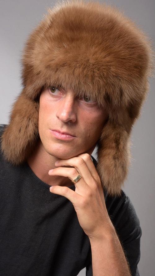 aspetto elegante donna trova il prezzo più basso Cappello da uomo in pelliccia stile russo: il vero Ushanka !