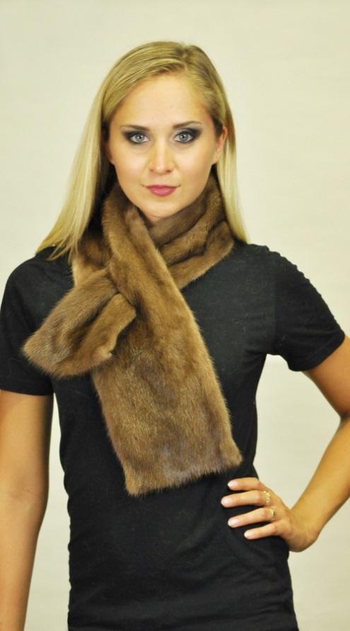 La sciarpa in visone si presta molto bene anche con la moda maschile 481c56fc9940